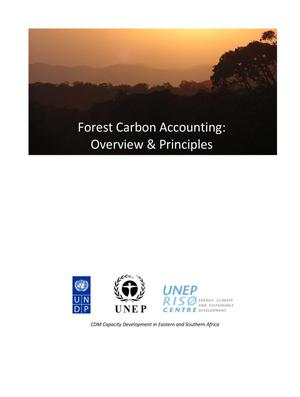 Primary view of object titled 'Forest Carbon Accounting: Overview & Principles'.
