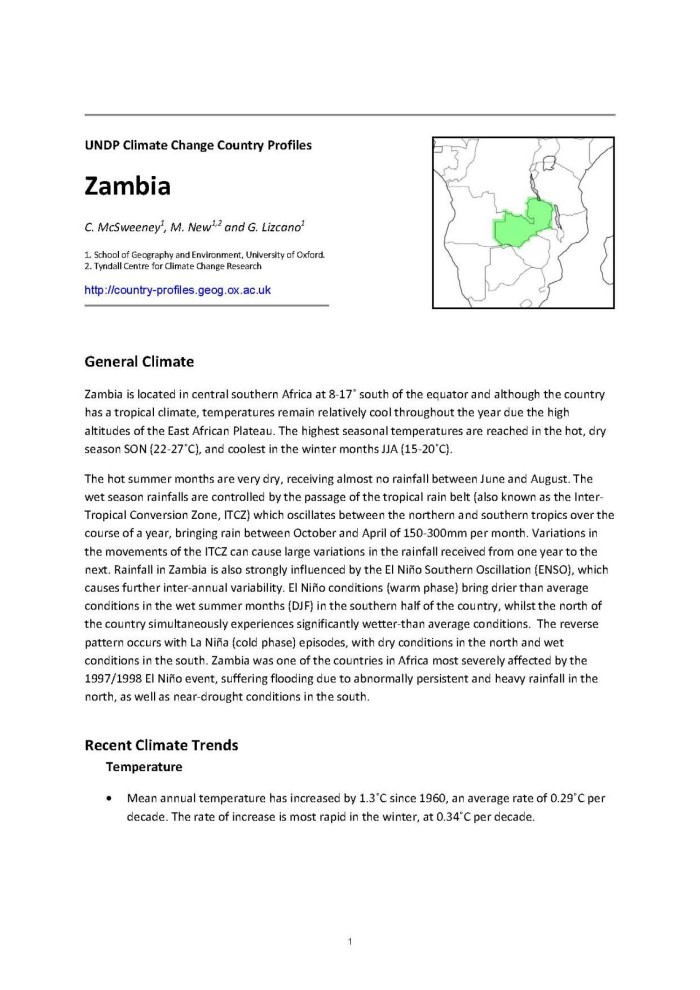 Undp climate change country profiles zambia digital library primary view of object titled undp climate change country profiles zambia publicscrutiny Image collections