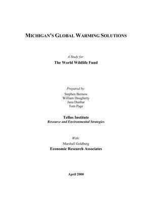 global warming title page