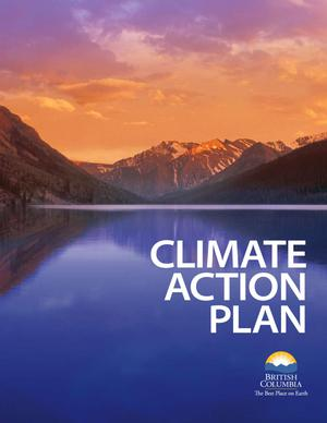 Primary view of object titled 'British Columbia Climate Action for 21st Century'.