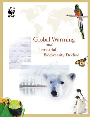 Primary view of object titled 'GlobalWarming and Terrestrial Biodiversity Decline'.