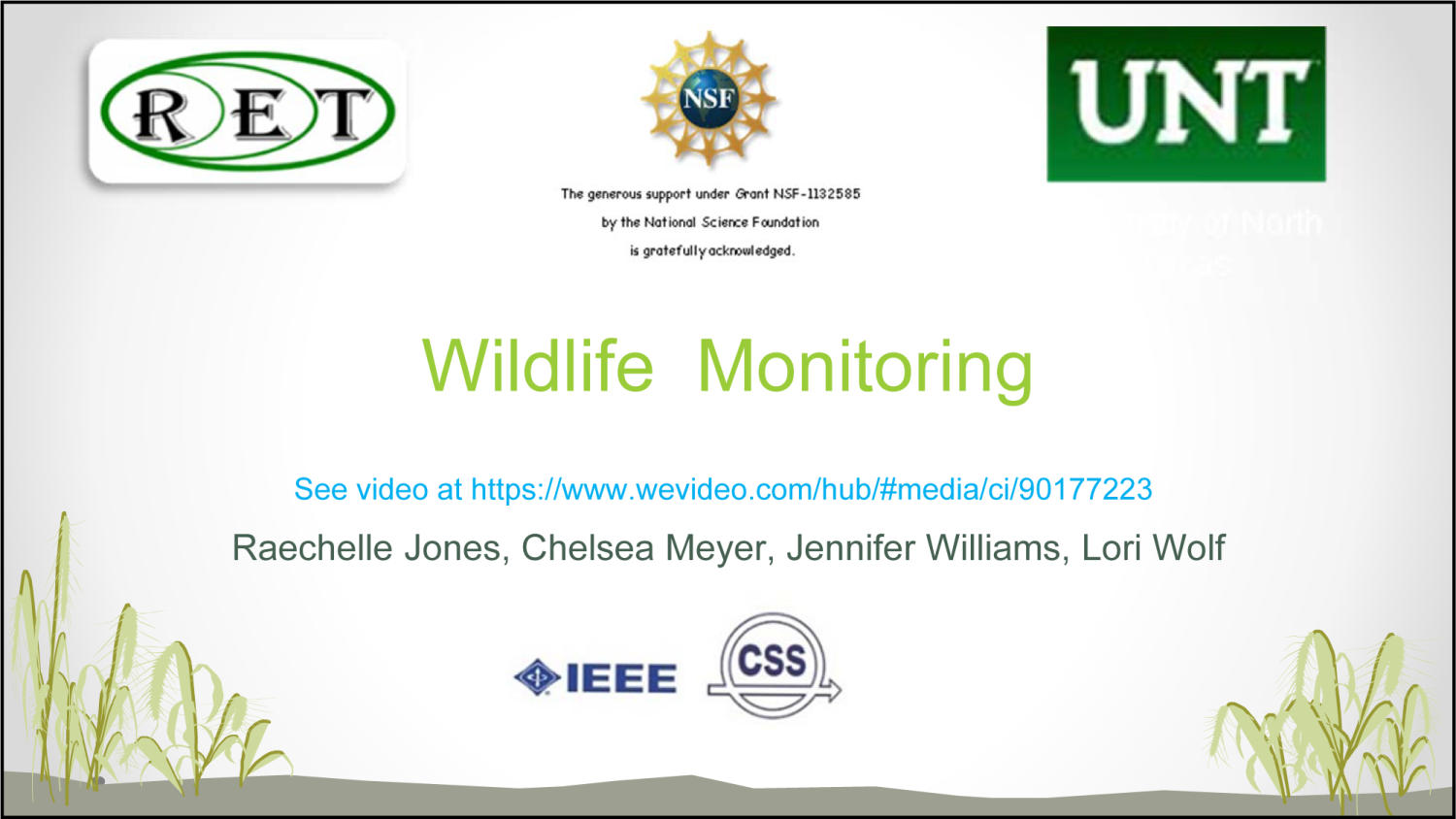Wildlife Monitoring                                                                                                      [Sequence #]: 1 of 19