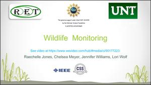 Primary view of object titled 'Wildlife Monitoring'.
