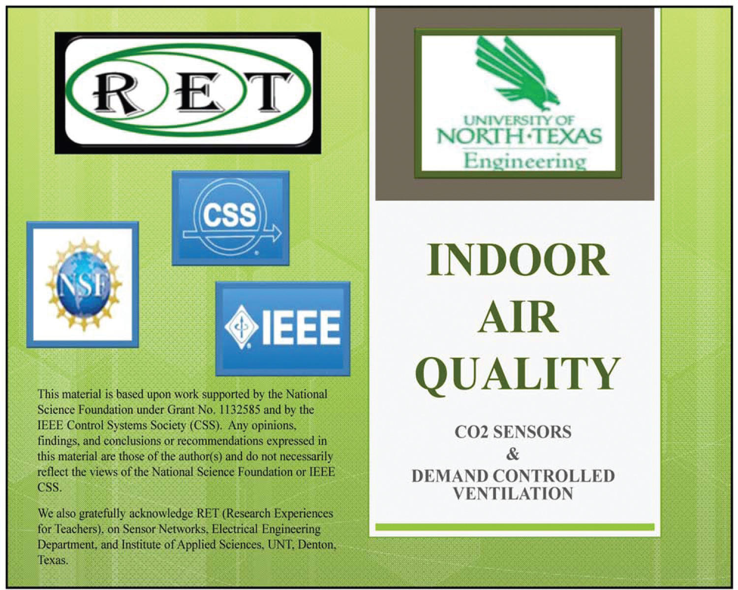 Indoor Air Quality: CO₂ Sensors and Demand Controlled Ventilation                                                                                                      [Sequence #]: 1 of 37