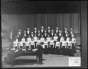 Primary view of object titled '[Campus Choir on Stage #2]'.