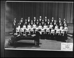 Primary view of object titled '[Campus Choir on Stage #1]'.