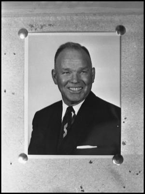 Primary view of object titled '[Photograph of Dr. Jess Cearly Physical Education Director #1]'.