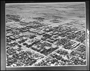 Primary view of object titled '[Campus - Aerial - Campus Grounds - 1965]'.