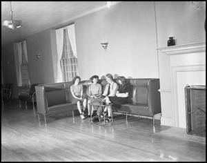 Primary view of object titled '[Campus - Scene - Activities - 1942]'.
