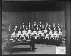 Primary view of object titled '[Campus Choir on Stage #3]'.