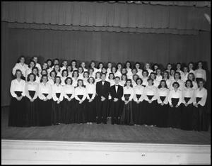 Primary view of object titled '[A Capella Choir, 1942 #2]'.