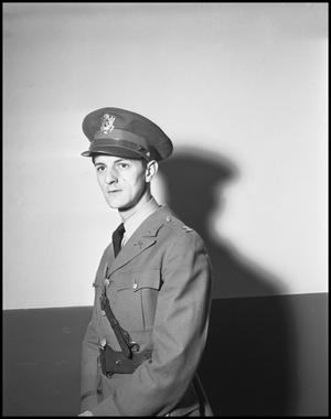 Primary view of object titled '[Earl Connette in Uniform]'.