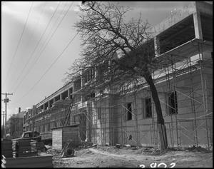 Primary view of object titled '[Crumley Hall - Construction - 1960]'.