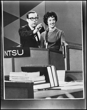 Primary view of object titled '[NTSU Debate Team]'.