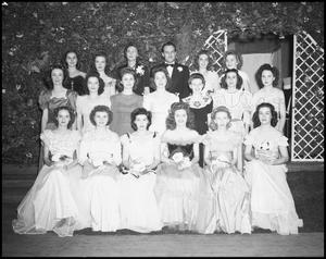 Primary view of object titled '[Delta Chi Delta Group Picture, 1942]'.