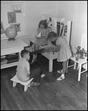 Primary view of [Children at Workbench]