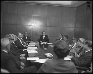 Primary view of object titled '[Executive Council Meeting]'.