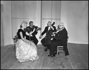 Primary view of object titled '[String Quartet]'.