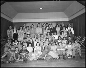 Primary view of object titled '[Hootenanny Group Photograph]'.