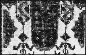 Primary view of object titled '[Close-Up Textile Sample]'.