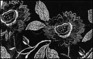 Primary view of object titled '[Floral Embroidery]'.