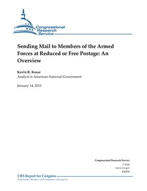 Sending Mail to Members of the Armed Forces at Reduced or Free Postage: An Overview