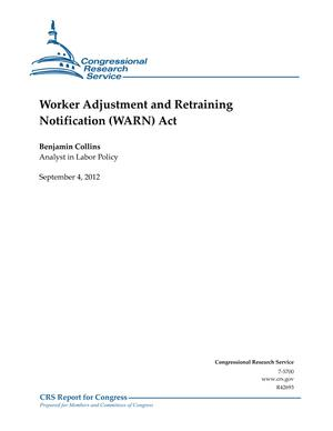 Worker Adjustment and Retraining Notification (WARN) Act