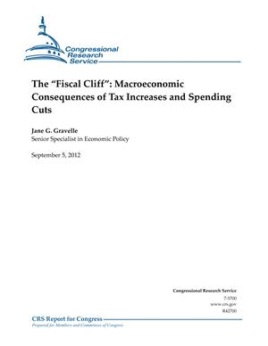 "The ""Fiscal Cliff"": Macroeconomic Consequences of Tax Increases and Spending Cuts"