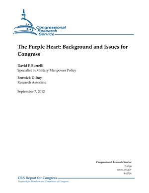 The Purple Heart: Background and Issues for Congress