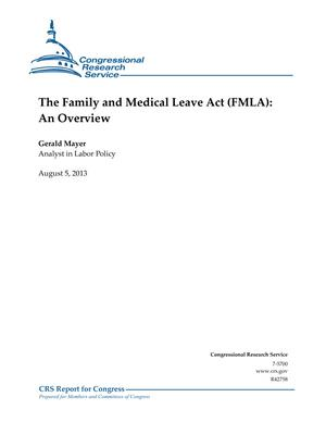The Family and Medical Leave Act (FMLA): An Overview