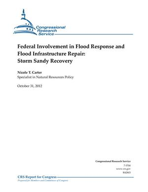 Federal Involvement in Flood Response and Flood Infrastructure Repair: Storm Sandy Recovery