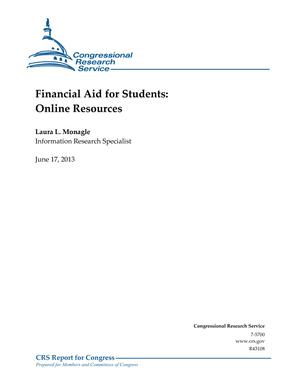 Financial Aid for Students: Online Resources