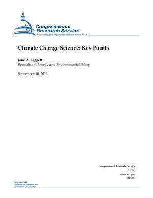 Climate Change Science: Key Points