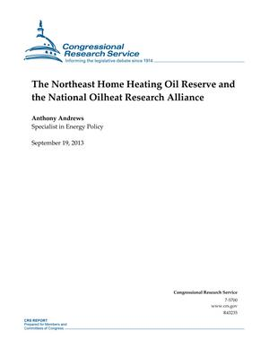 The Northeast Home Heating Oil Reserve and the National Oilheat Research Alliance