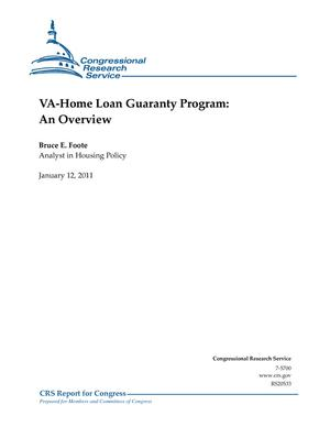 VA-Home Loan Guaranty Program: An Overview