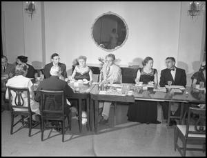 Primary view of object titled '[Formal Dinner, Festival of 20th Century Music]'.