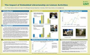The Impact of Embedded Librarianship on Liaison Activities