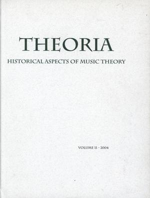 Primary view of object titled 'Theoria, Volume 11, 2004'.