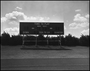 Primary view of object titled '[Fouts Field Scoreboard]'.