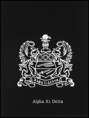 Primary view of object titled '[Alpha Xi Delta Seal/Badge]'.