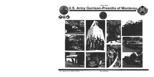 Primary view of object titled 'Base Input - U.S. Army Garrison-Presidio of Montery - Executive Summary, Organizational Profile, Command Brief, BOS Structure, and Information Papers'.