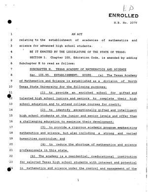 Th Texas Legislature Regular Session House Bill Digital - Texas legal documents