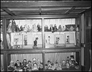 Primary view of object titled '[Doll and Telephone Display]'.
