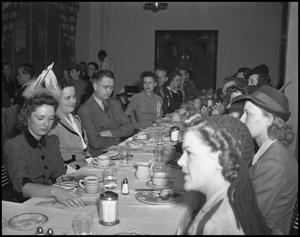 Primary view of object titled '[Homecoming Dinner]'.