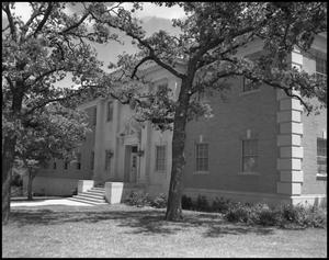 Primary view of object titled '[Industrial Arts Building, Exterior]'.