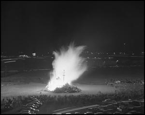 Primary view of object titled '[Homecoming Bonfire]'.