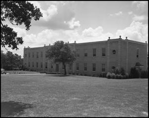 Primary view of object titled '[Journalism Building, Exterior]'.