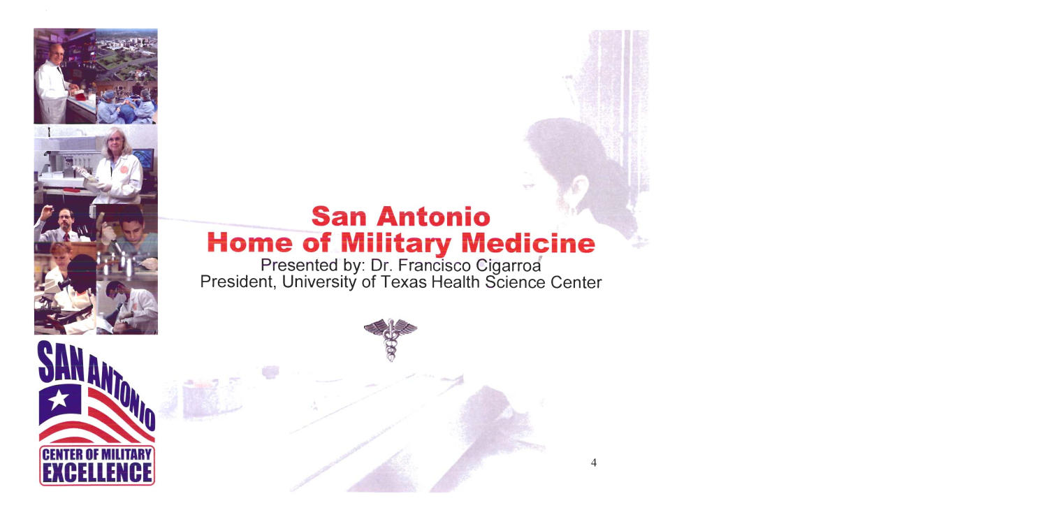 State Input - San Antonio - Military City, USA Presentation - Regional Hearing 7/11/05 -                                                                                                      [Sequence #]: 4 of 27
