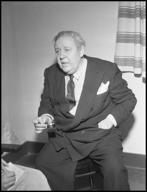 Primary view of object titled '[Charles Laughton]'.