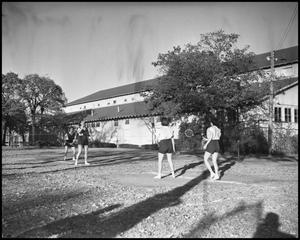 Primary view of object titled '[Intramural Badminton]'.